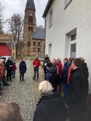 Fotoalbum Schöner unsere Stadt - die erste Wariner Pflanzaktion