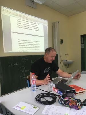 Fotoalbum In Schreibgewittern-Workshop mit Autor Manfred Theisen