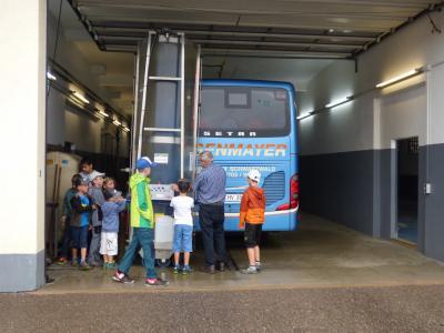 Fotoalbum Ferienprogramm 2019 - Aktionstag rund um den Bus