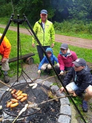 Fotoalbum Ferienprogramm 2019 - Wandern mit dem Wegewart