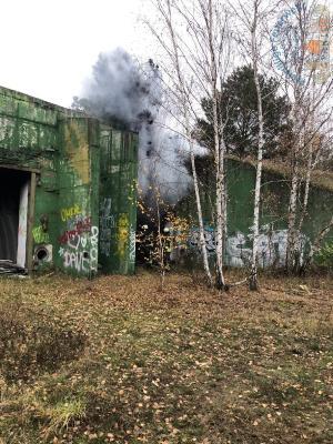 Fotoalbum Einsatz 2610 B-Klein- Kraatz Rauchentwicklung ehem.Bunkeranlage