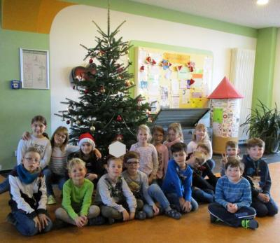 Fotoalbum Weihnachtsgrüße der Klasse 2b