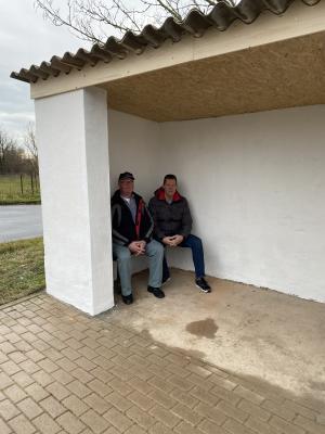 Fotoalbum Projekt: Umbau Bushaltestelle in Borgesdorf