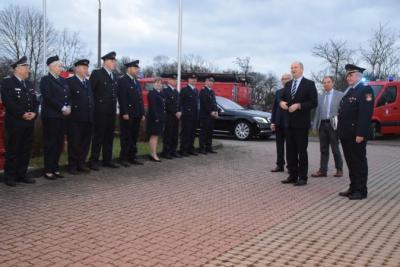 Fotoalbum Besuch des Ministerpräsidenten bei den Freiwilligen Feuerwehren der Stadt Pritzwalk