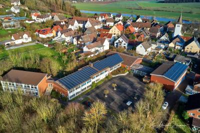Fotoalbum Luftaufnahmen unserer Schule
