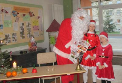 Fotoalbum Der Weihnachtsmann war da