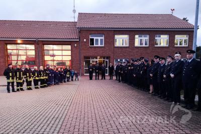 Fotoalbum Ministerpräsident besuchte die Pritzwalker Feuerwehr