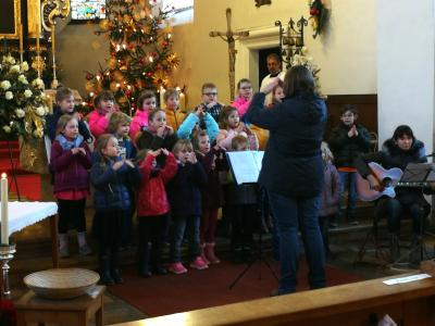Fotoalbum Kindersegnung an Weihnachten