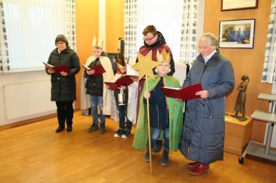 Fotoalbum Sternsinger im Rathaus