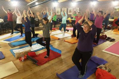 "Fotoalbum Yoga-Seminar ""Ayurveda und Yoga"""
