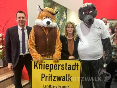 Fotoalbum Pritzwalker warben in Berlin für ihre Stadt