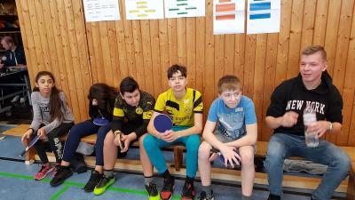 Fotoalbum Tischtennis Turnier