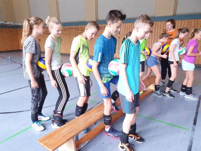 Fotoalbum Sommercamp Volleyball August 2019