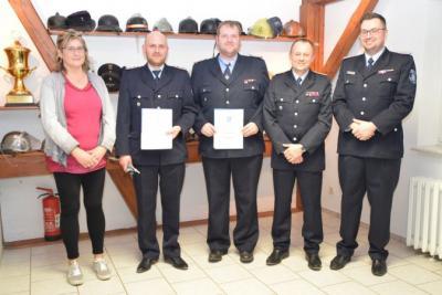 Fotoalbum Jahreshauptversammlung der Freiwilligen Feuerwehr Spiegelhagen