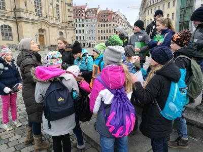 Fotoalbum Die Exkursion nach Dresden