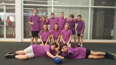 Fotoalbum Schulteam im Zweifelderball