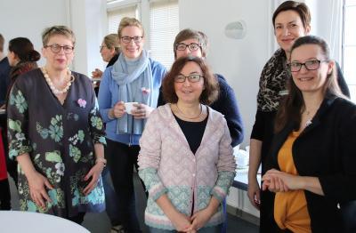 Fotoalbum Bilder vom Unternehmerinnen- und Gründerinnenstammtisch