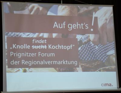 Fotoalbum Prignitzer Forum der Regionalvermarktung