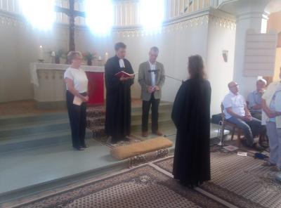 Fotoalbum Einführung unserer Pfarrerin Karin Krautmacher