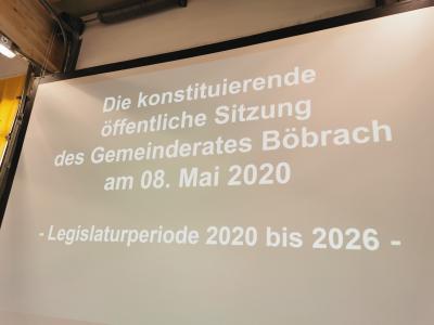 Fotoalbum Konstituierende Gemeinderatssitzung