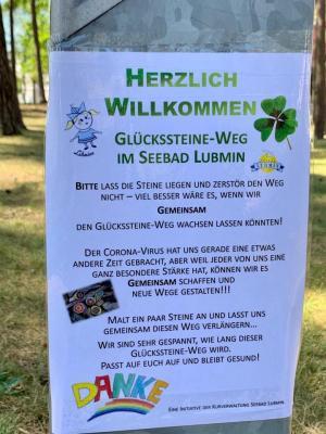 Fotoalbum Lubminer *Glückssteine-Weg*