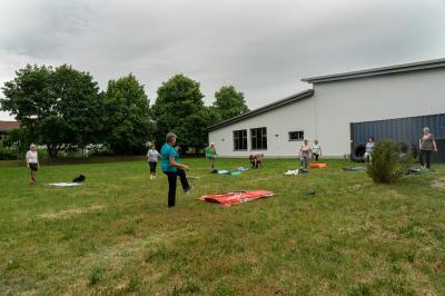 Fotoalbum Outdoor - Gymnastik für Frauen