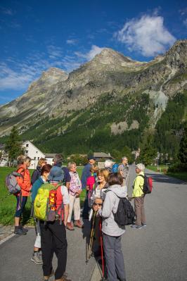 Fotoalbum Wanderfahrt Ober Engadin vom 1. bis 9. September 2019