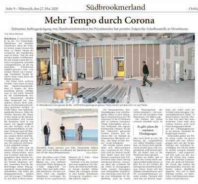 Fotoalbum Umbauarbeiten am Standort Moorhusen