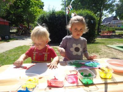 Fotoalbum Kindertag im Kindergarten