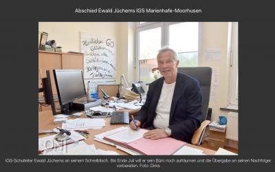 Fotoalbum IGS Marienhafe-Moorhusen verabschiedet Schulleiter in den Ruhestand