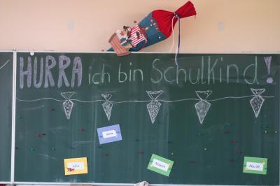 Fotoalbum Herzlich willkommen! Unsere Einschulungsfeier