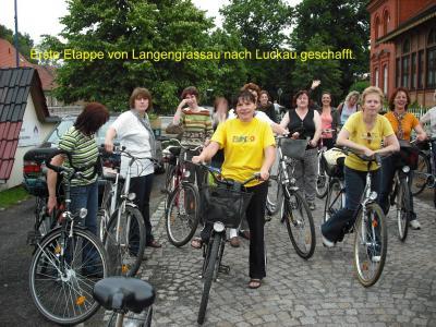 Fotoalbum Frauensportgruppe macht Radpartie