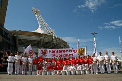 Foto des Albums: Fanfarenzug Potsdam - WM in Kerkrade - Sonnabend (01.08.2009)