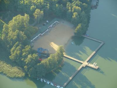 Foto des Albums: Flug über das Strandbad :-) (31.08.2009)