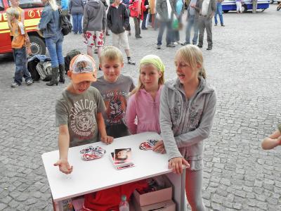 Foto des Albums: Stadtwette gewonnen - Tacho Tim befreit (11.09.2009)