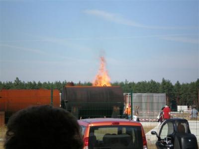Fotoalbum Tag der offenen Tür Verkehrsversuchsanlage Horstwalde 09.09.2009