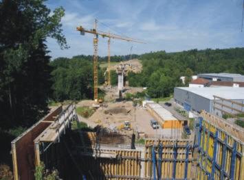 Fotoalbum Autobahnbau A98