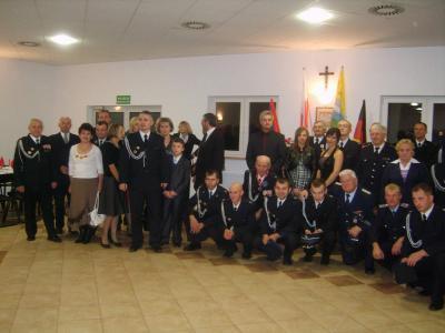 Fotoalbum Einweihungsfeier Feuerwehrgebäude im polnischen Kobylanka