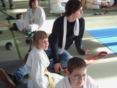 Fotoalbum Bezirksmeisterschaft Judo U10 November 2009