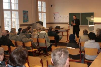 Foto des Albums: Tag der offenen Tür in der Käthe-Kollwitz-Oberschule (16.01.2010)