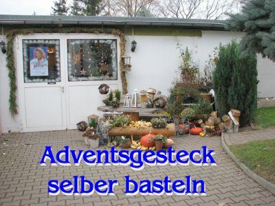 Stadt Muhlberg Elbe Adventsgesteck Selber Basteln