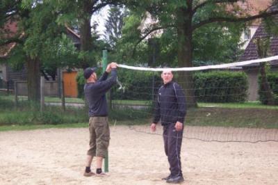 Fotoalbum BJK-Turnier 2009 - hinter den Kulissen