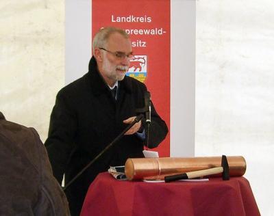 Foto des Albums: Grundsteinlegung (21.12.2009)