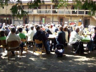 Fotoalbum Eröffnung des Begegnungszentrums Oberlaubenstall in Borgisdorf