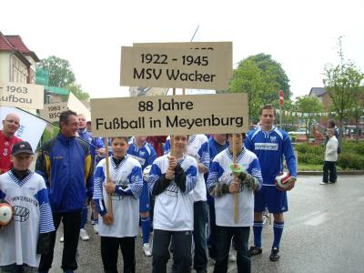 "Fotoalbum Festwoche ""725 Jahre Meyenburg"" -  Festumzug Teil VI"