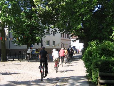 Fotoalbum Tour de Prignitz: Abfahrt aus  Meyenburg