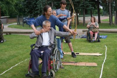 Foto des Albums: 3. Senioren- und Behindertensportfest des Landkreises Teltow-Fläming anlässlich der Brandenburgischen Seniorenwoche (12.06.2010)