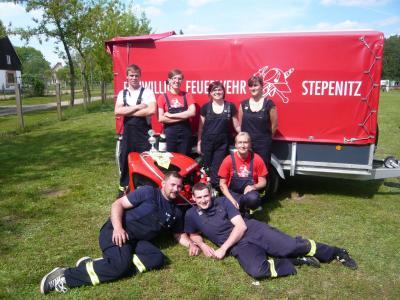 Fotoalbum FFW Stepenitz zu Gast in Kehrberg