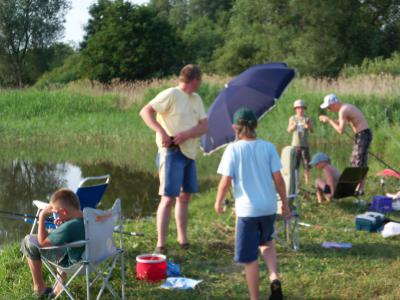 Fotoalbum Jugendnachtangelcamp in Plummendorf 10.07.2010
