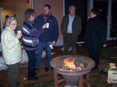 Hoppegarten - Begrüßung des neuen Jahres 2011